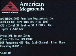 Laptop BIOS hibakódok, hibajelzések, POST sípolások, sípszó